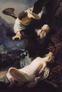 Rembrandt - The Offering of Abraham