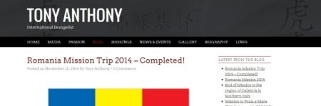 Tony Anthony blog