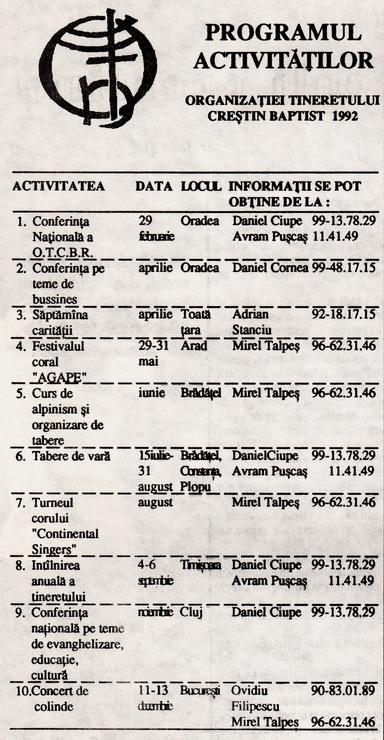 tineret-1992