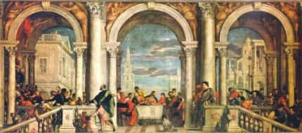 Paolo Veronese - Ospățul în casa levitului (sursa)